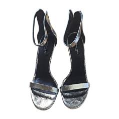 Sandales à talons MICHAEL KORS Argenté, acier