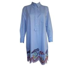 Midi-Kleid TOMMY HILFIGER Blau, marineblau, türkisblau