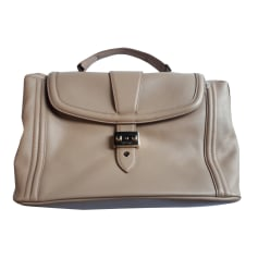 Leather Shoulder Bag LANCEL Dove