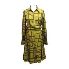Robe mi-longue HERMÈS Vert