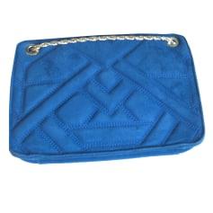 Sac en bandoulière en cuir SÉZANE Bleu, bleu marine, bleu turquoise