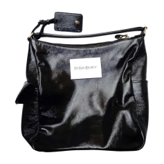Sac à main en cuir YVES SAINT LAURENT Noir