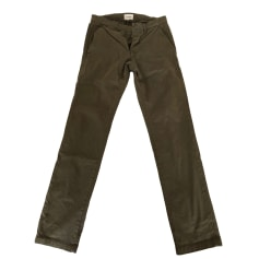 Pantalon droit OCTOBRE EDITIONS Kaki