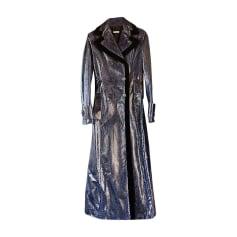 Fur Coat MIU MIU Blue, navy, turquoise