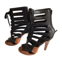 Heeled Sandals VANESSA BRUNO Black