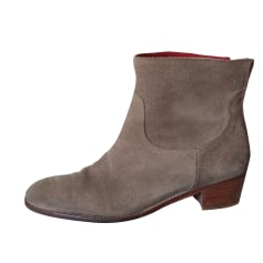 Bottines & low boots à talons ZADIG & VOLTAIRE taupe