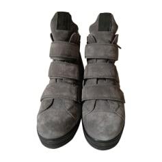 Sneakers PRADA Gray, charcoal