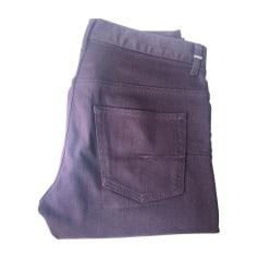 Jeans slim DIOR HOMME Aubergine