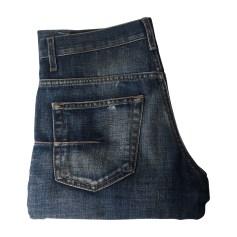 Skinny Jeans DIOR HOMME Bleu delavage effet