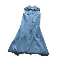 Robe longue MAJE Bleu, bleu marine, bleu turquoise