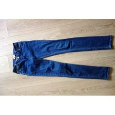 Jeans slim BALZAC PARIS Bleu, bleu marine, bleu turquoise