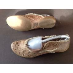 Ballet Flats COCO & ABRICOT Marron marbré