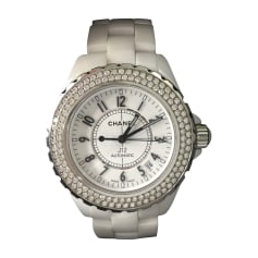 Wrist Watch CHANEL White, off-white, ecru