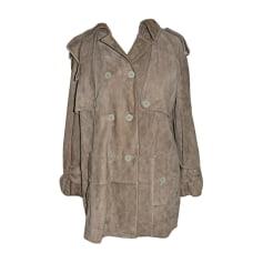 Leather Jacket DOLCE & GABBANA Beige, camel