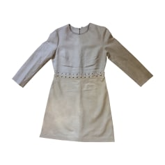 Midi-Kleid CHLOÉ Beige