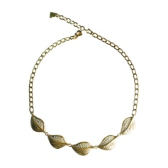 Necklace LANVIN Golden, bronze, copper