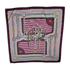 Silk Scarf HERMÈS Pink, fuchsia, light pink