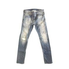 Jeans slim DIESEL Blu, blu navy, turchese