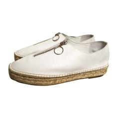 Sneakers ALEXANDER WANG Weiß, elfenbeinfarben