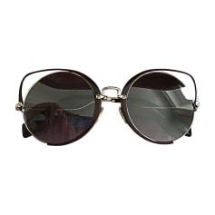 Sunglasses MIU MIU Purple, mauve, lavender