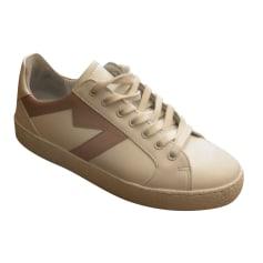 Sneakers MAJE White, off-white, ecru