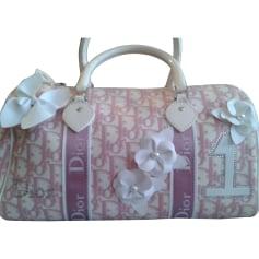 Non-Leather Handbag DIOR Pink, fuchsia, light pink