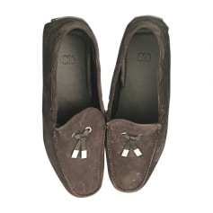 Loafers DIOR HOMME Gray, charcoal