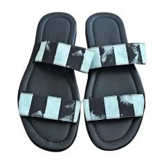 Ciabatte, pantofole BALMAIN Nero