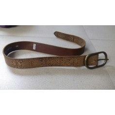 Skinny Belt LEVI'S Beige, camel