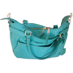 Leather Shoulder Bag VANESSA BRUNO Green