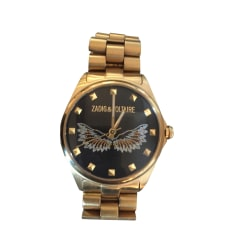 Wrist Watch ZADIG & VOLTAIRE Golden, bronze, copper