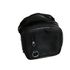Leather Shoulder Bag LANCEL Black