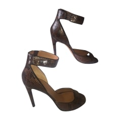 Heeled Sandals GIVENCHY Animal prints