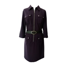 Midi Dress MICHAEL KORS Blue, navy, turquoise