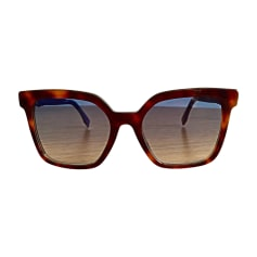 Sunglasses FENDI Brown
