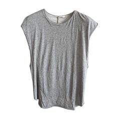 Tee-shirt DAMIR DOMA SILENT Gris, anthracite