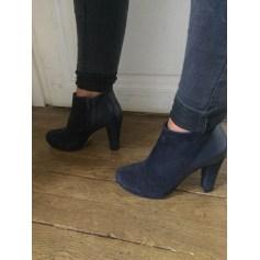 Bottines & low boots à talons SAN MARINA Bleu marine