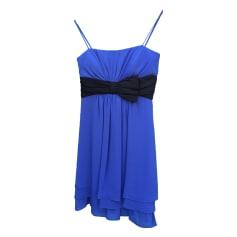 Robe courte ALAIN MANOUKIAN Bleu, bleu marine, bleu turquoise