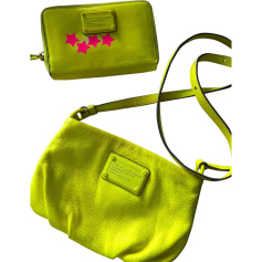 Borsa a tracolla in pelle MARC BY MARC JACOBS Giallo