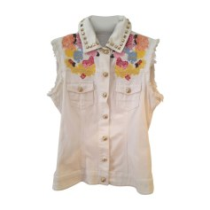 Zipped Jacket PHILIPP PLEIN White, off-white, ecru