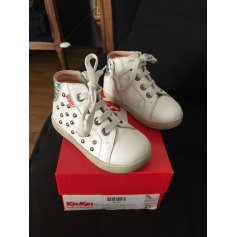 Ankle Boots KICKERS White, off-white, ecru