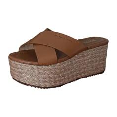Wedge Sandals MICHAEL KORS Beige, camel