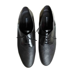 Lace Up Shoes FRATELLI ROSSETTI Black
