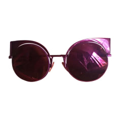 Sunglasses FENDI Pink, fuchsia, light pink