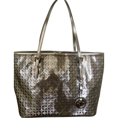 Non-Leather Handbag MICHAEL KORS Silver