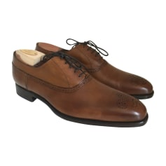 Lace Up Shoes EMLING Brown