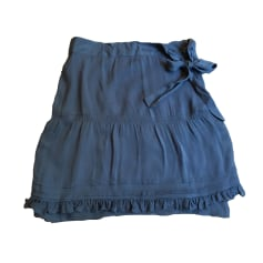 Jupe courte COMPTOIR DES COTONNIERS Bleu, bleu marine, bleu turquoise