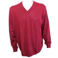 Sweater LACOSTE Red, burgundy