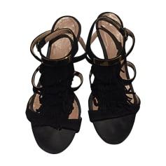 Wedge Sandals CHLOÉ Black