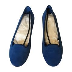 Ballerines BALENCIAGA Bleu, bleu marine, bleu turquoise
